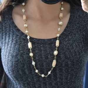 J Crew Pink Necklace